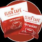 Espositore Click Café - Corner Cialde e Capsule - Miscela Intenso - espositore caffè - espositore cialde e capsule