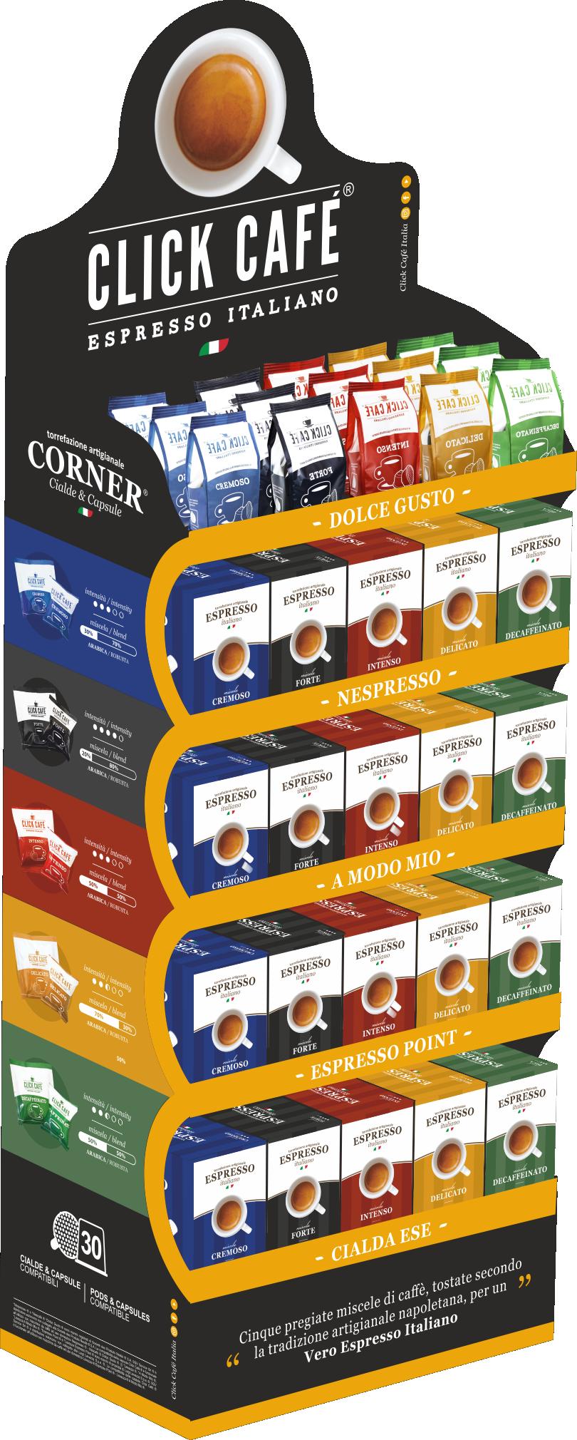 Espositore caffè cialde e capsule - espositore caffè - espositore cialde e capsule - Corner caffè Cialde e Capsule - Corner caffè - corner cialde e capsule - Corner cialde - Corner cialde caffè - Corner capsule caffè - i caffè